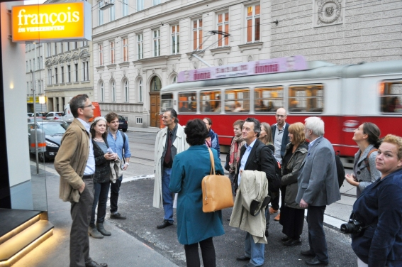 The ICEC Team met in Vienna to officially start the project and visit the Viennese case study areas.